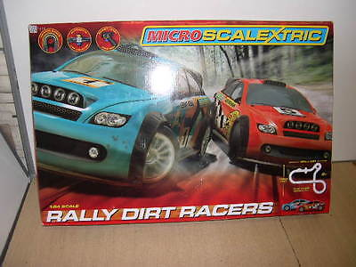 Scalextric Micro Rally Dirt Racers Set - Tested