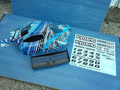 Nitro 1/10 Rc Buggy Kyosho Dbx2.0 Bodyshell With Rear Wing New