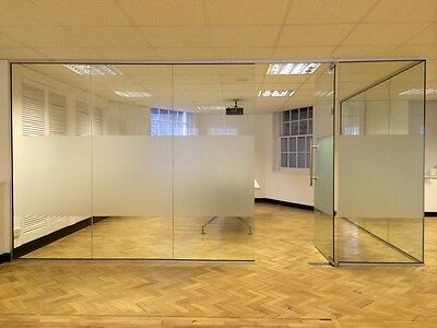 TRADE PRICES- 10mm Glass Partitions, Office Partitions, Toughened Glass to Order