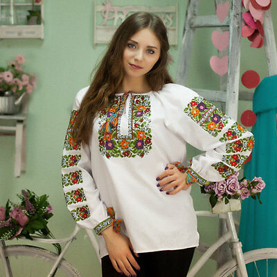 Ukrainian emroidery blouse, traditional shirt,