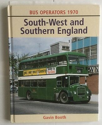 Bus Operators 1970: South-West and Southern England,by Gavin Booth,