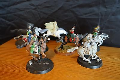 Warhammer Lord of the Rings Assorted Horses and  Figures