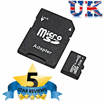 32GB Micro SD SDHC Memory Card Class 10 Smart Phones, Tablets + FREE ADAPTER