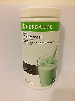 Herbalife - Formula 1 Healthy Meal Replacement  - Mint Chocolate - 550g - NEW