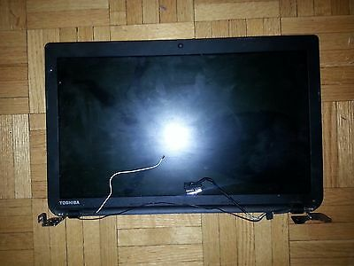 Toshiba Satellite C50 Lcd Front & Back cover Hinges & Screen Cable (LCD Broken)