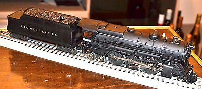 Lionel 2035 Steam Engine w/2466wx Whistle Tender excellent condition