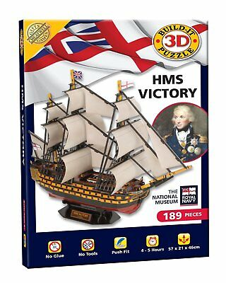 Cheatwell Games HMS Victory Build It 3D Puzzle