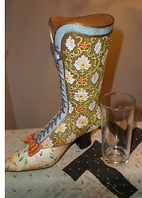 Vintage Style Shoe Vase from Victorian Trading Co