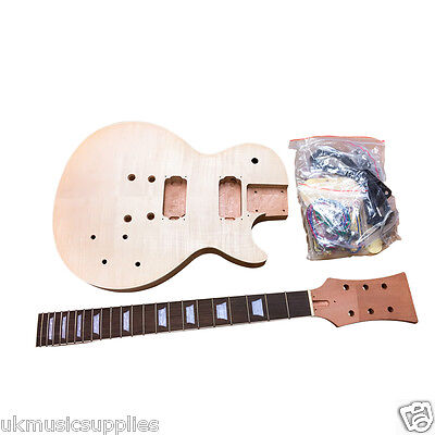 LP x 3 BYO Pre-drilled for Student & Luthier Electric Guitar DIY KITS UKMS