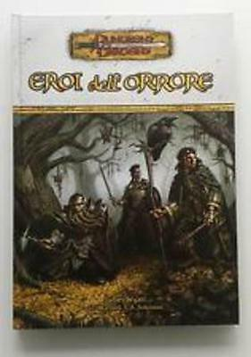 EROI DELL 'ORRORE D&D 3.5 Dungeons & Dragons supplemento