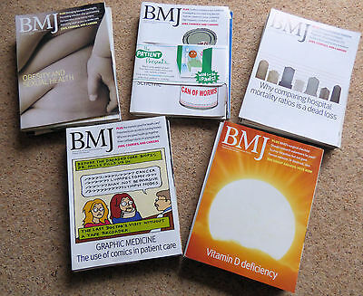 BMJ British Medical Journal 16th January 2010 to 28th August 2010 - 32 issues