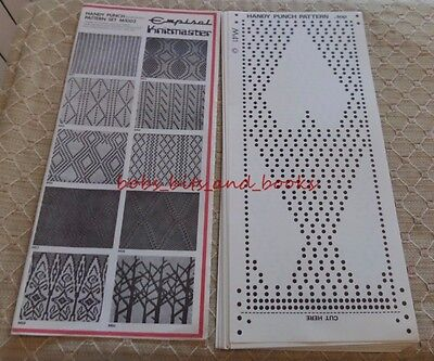 Empisal Knitmaster Handy Punch Pattern Set M1003 All Complete Unused