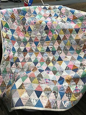 Heavy Double Sided Antique Quilt