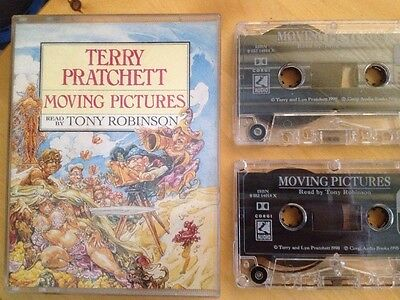 Moving Pictures By Terry Pratchett (Audio Cassette, 1995) A Discworld Novel