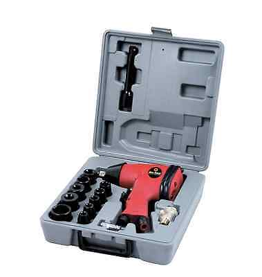 "17PC 1/2"" Drive Air Impact Wrench Tool Socket Set Compressor Garage Bodyshop"