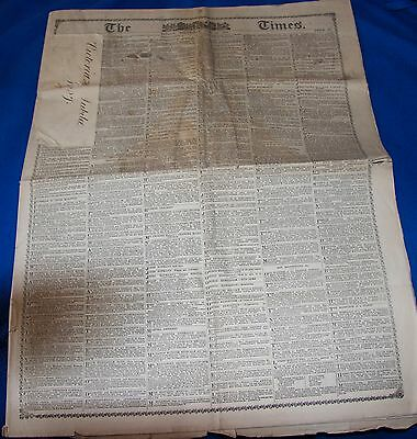 Copy of The Times from Victoria's Jubilee, 1887