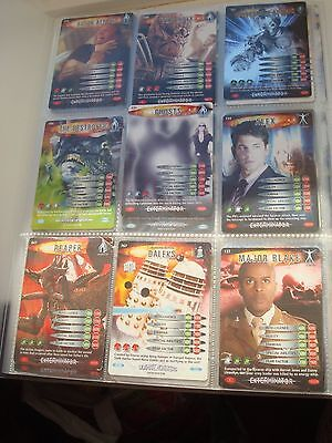 Doctor Who battles in time & Monster invasion EXTREME 90 cards job lot collect