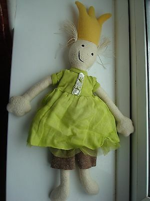 BNWOT   Jottum very rare rag doll Jott 17 inches - puppe ONE SIZE