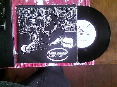 "7"" Lokomotive Dragster Speed Monster/ Guilty Man Ita Punk"
