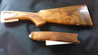 Beretta EELL 20 bore o/u stock and forend wood  57469