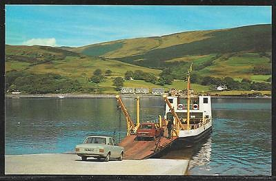 RHUBODACH FERRY BETWEEN COLINTRAVE & ISLE OF BUTE - COLOUR VIEW c.1960's UNUSED