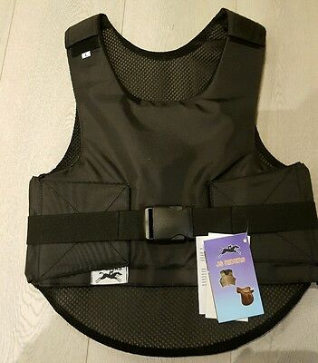 KIDS Children's Horse Riding Vest Waistcoat Gilet Safety Equestrian Protection