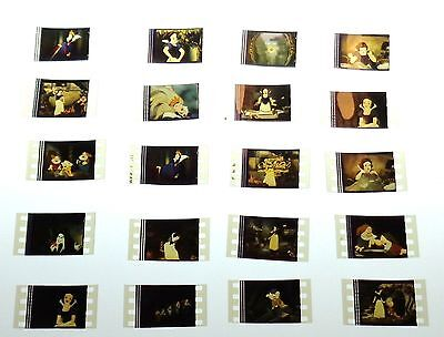 DISNEY SNOW WHITE15 Film Cell Lot  Poster Book Movie DVD  FREE SHIPPING