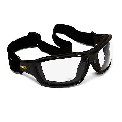 Safety Glasses Goggles Dewalt Converter Safety Goggle Clear Lens Dpg83-11D