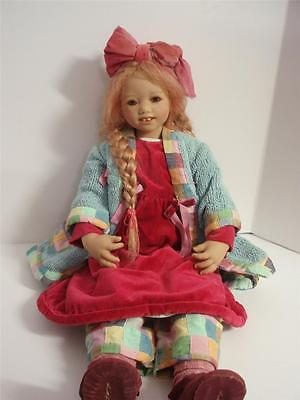 Annette Himstedt Luise-Original Outfit, Coa Box And Shipper