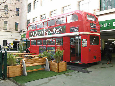 Collector Routemaster Bus converted into Restaurant (Food truck)