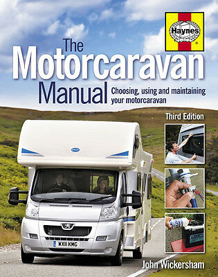 Haynes The Motorcaravan Manual 3Rd Edition Guide Maintenance Motor Caravan H5124