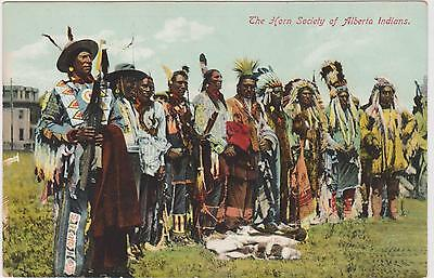 Pc The Horn Society Of Alberta Indians , C 1907