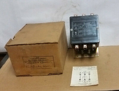 NOS Crouse-Hinds ACC630U30 3-Pole Contactor