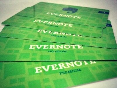 Evernote Premium 12 month Subscription / Upgrade - Digital Delivery - 25% off!