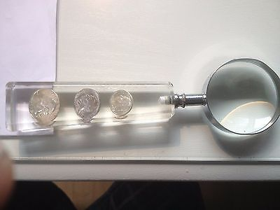 90% usa silver coin magnifier custom made one of a kind   lovely