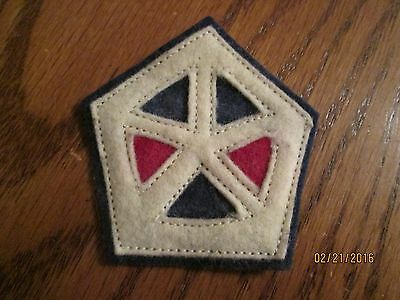 WWI US Army patch V 5th Corps,Engineers patch