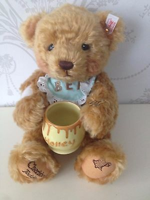 steiff bear and cherished teddy limited benji