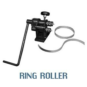 """Metal ring roller rolling machine from Woodward-Fab 3/16"""" capacity steel"""