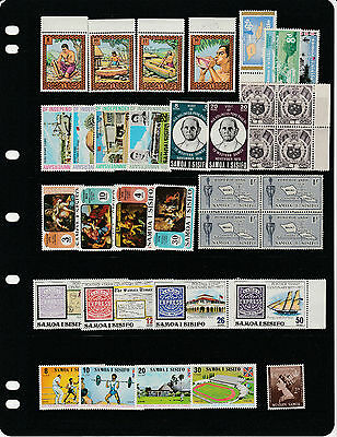 SAMOA, nice collection , sets/issues , Mainly MINT NH