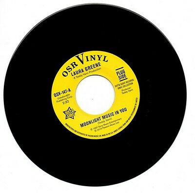 """LAURA GREENE Moonlight Music In You NEW NORTHERN SOUL 45 (OUTTA SIGHT) 7"""" VINYL"""
