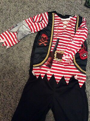 Pirate fancy dress age 5-6 years
