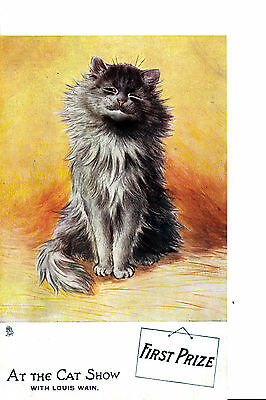 "*  Louis Wain  "" At The Cat Show """