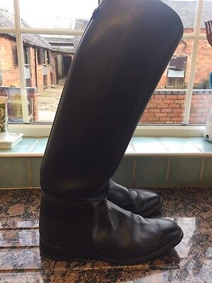 Cavello Black Leather Riding Boots 7