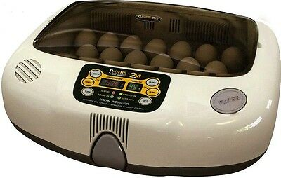 R-Com 20-Digital Fully Automatic Egg Incubator-Poultry-Chicken-Waterfowl-Ducks