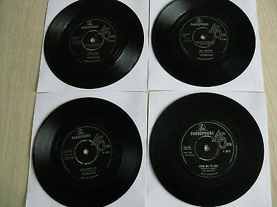 BEATLES COLLECTION 45s X 4 FROM ME TO YOU +3 ALL ORIG AND VG MIN