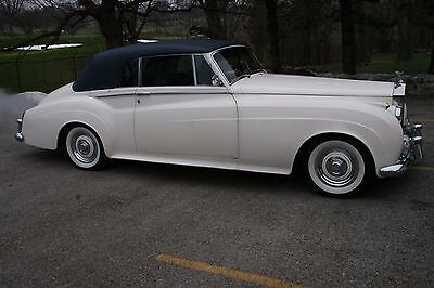 1962 Rolls-Royce Other  1962 Rolls Royce Silver Cloud 2 Drophead Coupe HJ Mulliner Coach Edition