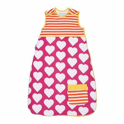 Pocketful of Love Grobag by The Gro Company Baby Sleeping Bag Sack, 2.5 Tog 0-6m