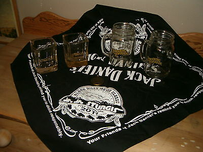 Jack Daniels Whiskey collectibles assortment of items