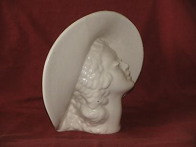 Lady Head Vase - Planter - Art Deco - Nouveau - Southern Belle