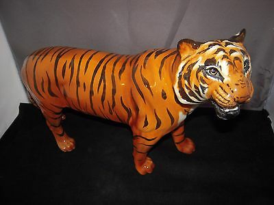 Beswick Tiger - Large Gloss Figurine approx. 12 inches Long. Lovely Condition.